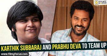 Prabhu Deva, prabhu deva movies, karthik subba raj, dhanush