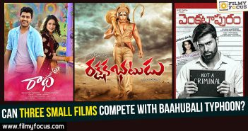 venkatapuram movie, Radha Movie, baahubali 2, Rakshaka bhatudu movie,