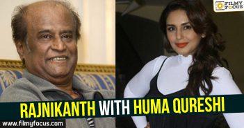 Rajnikanth, Huma Qureshi,
