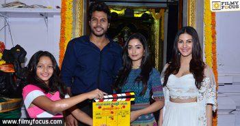 Manjula, Manjula Ghattamaneni, Sundeep Kishan, Actress Amyra Dastur, Nakshathram Movie,