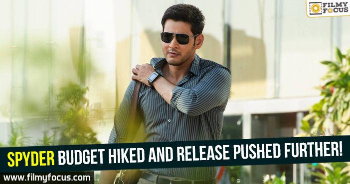 Mahesh Babu, Murugadoss, Pooja Hegde, Rakul Preet, Spyder Movie