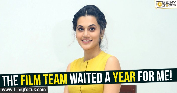 Tapsee, Aanando Brahma Movie,