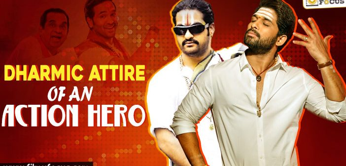 Dharmic Attire of an Action Hero!