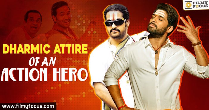Dharmic Attire of an Action Hero