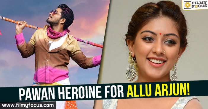Actress Anu Emmanuel, Allu Arjun, Duvvada Jagannadam Movie, Naa peru Surya Movie, PK25, Vakkantham Vamsi