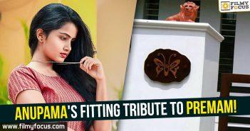 Anupama Parameshwaran, Actress Anupama Parameshwaran, Anupama Parameshwaran's House, Premem,