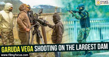 Garuda Vega shooting on the largest Dam in Georgia