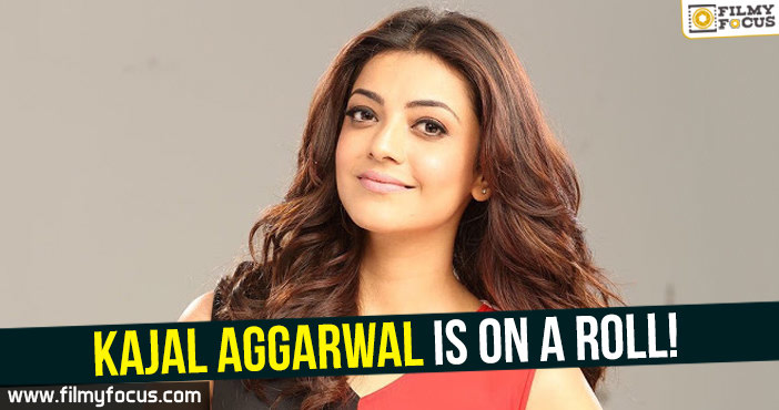 Actress Kajal Aggarwal, Kajal Aggarwal Movies, vijay 61, vivegam movie, Nene Raju Nene Mantri,