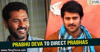 Prabhas, Prabhas Movies, saaho, Saaho Movie, Prabhu Deva, prabhu deva movies,