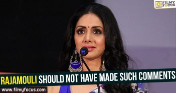 sridevi, Actress Sridevi, MOM movie, rajamoili, bahubali, Baahubali 2,