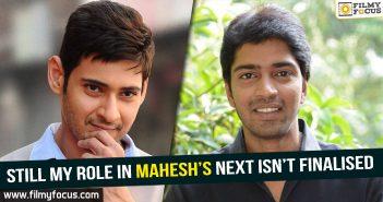 Mahesh 24, Director Koratala Siva, Bharat Ane Nenu Movie, Kiara Advani, Allari Naresh, Allari Naresh Movies,