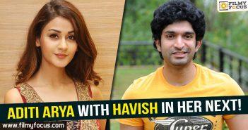 Aditi Arya, Havish, ISM movie