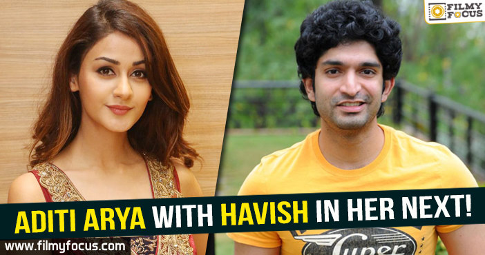 Aditi Arya, Havish, ISM movie