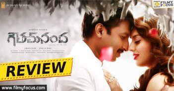 Catherine Tresa, Gopichand, Goutham Nanda Movie, Goutham Nanda Review, Goutham Nanda Telugu Review, Hansika Motwani, sampath nandi, thaman