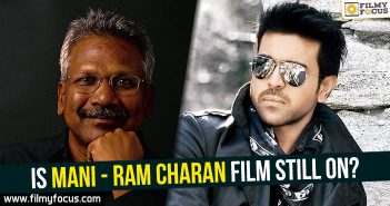 Mani Ratnam, Ram Charan, Mani Ratnam With Ram Charan,
