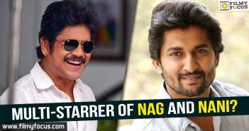 Nag and Nani Multi-starrer, Nagarjuna, Nagarjuna Akkineni, Nani, Raju Gari Gadhi 2 Movie, MCA movie, Krishnarjuna Yudham Movie,