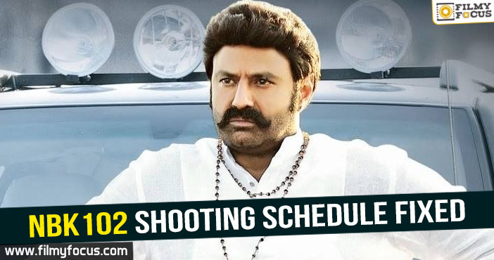 Actress Nayantara, Balakrishna, ks ravikumar, NBK101, NBK102, paisa vasool movie, Ruler Movie
