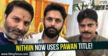 Nithiin, Pawan Kalyan, Trivikram