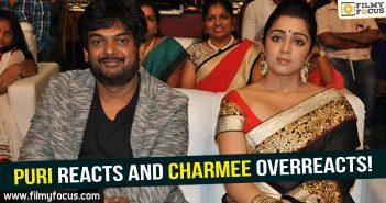 Director Puri Jagannadh, Puri Jagannadh At Police Station, Puri Jagannadh, charmee, Paisa vasool movie, Puri twitter