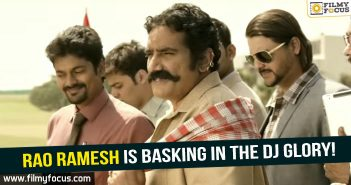 Rao ramesh, Actor Rao Ramesh, Duvvada Jagannadam Movie,