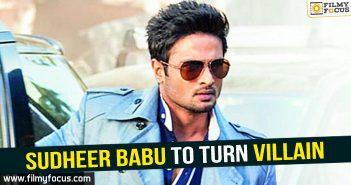 Sudheer Babu, mahesh babu, spyder, shamanthakamani movie,