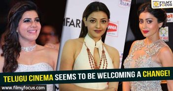 Actress Kajal Aggarwal, Actress Samantha, Actress Shriya Saran, Actress Tamanna, Veera bhoga Vasantharayalu Movie