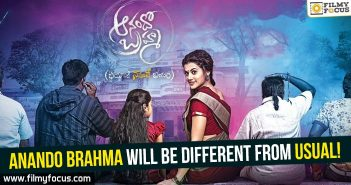 anando-brahma-will-be-different-from-usual