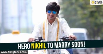 Hero Nikhil, Nikhil Siddhartha, Nikhil,