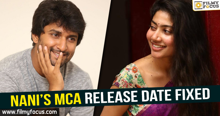 Actress Sai Pallavi, Dil Raju, MCA movie, Nani, venu sree ram