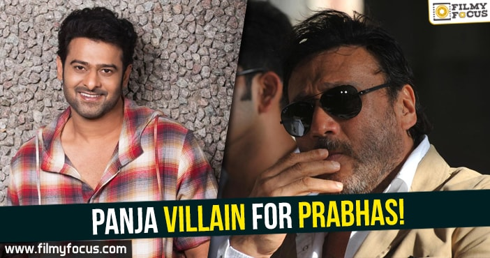 Prabhas, Saaho Movie, Jackie Shroff, Sujeeth