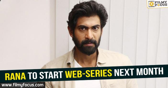 Social web series, Rana, rana movies, Nene Raju Nene Mantri,