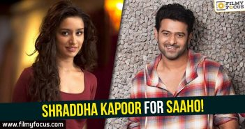 Shraddha Kapoor, Saaho Movie, Prabhas, Sujeeth