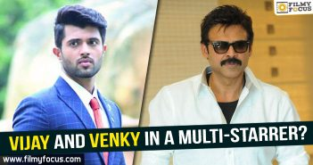 Arjun Reddy, Arjun Reddy Movie, Bommarillu bhaskar, Venkatesh, Vijay Devarakonda