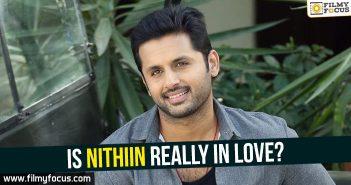 Hero Nithiin, Nithiin