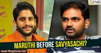 Maruthi, Savyasachi Movie, Director Marithi, Naga Chaitanya