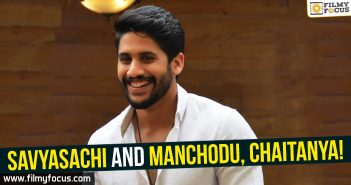 Savyasachi Movie, Naga Chaitanya
