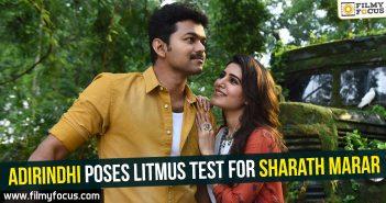 Adirindhi Movie, Vijay, Samantha, Kajal, Nithya Menen, Sharath Marar,