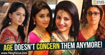 Nayantara, Trisha, Shriya, Anushka