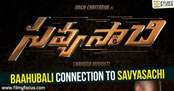 Baahubali Movie, Prabhas, Naga Chaitanya, Savyasachi Movie