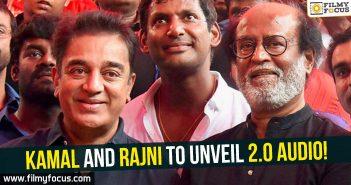 Kamal Haasan, Rajnikanth, Robo 2.0,