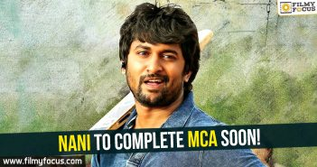 Nani, MCA Movie, Actor Nani