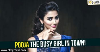 Pooja Hegde the busy girl in Town!