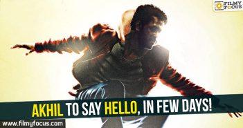 Akhil Akkineni, Hello Movie, Akhil,