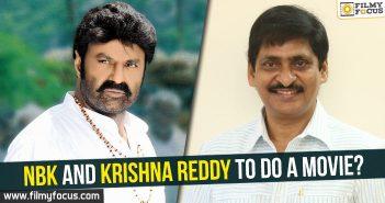 Balakrishna, Krishna Reddy,