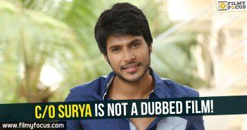 Sandeep Kishan, C/O Surya Movie, Sandeep