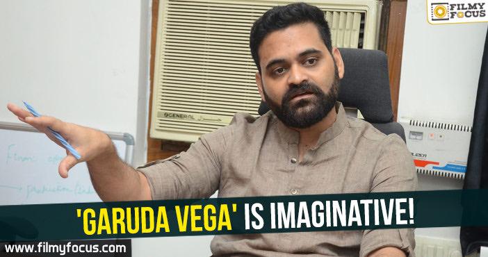 Garuda Vega Movie, Pooja Kumar, Vishwaroopam Movie, Kamal Haasan, Praveen Sattaru