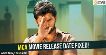 MCA Movie, Nani, Sai Pallavi, Dil Raju