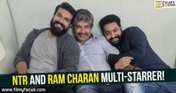 Jr. NTR, Ram Charan, Rajamouli, NTR