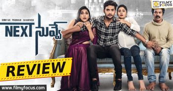 Next Nuvve Review, Next Nuvve Movie Review, Aadi, Vaibhavi Shandilya, Rashmi Gautam