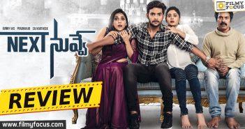 Next Nuvve Review, Next Nuvve Movie Review, Aadi, Vaibhavi Shandilya, Rashmi Gautam